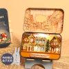 La mini casa de madera barata embroma la casa de muñeca de Guangzhou de los juguetes
