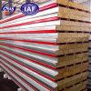 De nouveaux matériaux de construction incombustible panneau sandwich en laine de verre pour montage mural