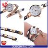 Armband-Uhr-Kristall-runder Vorwahlknopf-Luxuxarmbanduhr der Frauen-Yxl-348 2017 für Frauen-Kleid-Golddame-beiläufige Dame Uhr