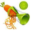 Спиральн Slicer, делает лапши от мягких овощей для здоровой еды, создает лапши Zucchini которые малыши любят, запаша Stuffer для рождества, Spiralizer