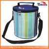 Sacchetto multifunzionale pratico personalizzato superiore del dispositivo di raffreddamento isolato tela di canapa per pranzo esterno