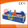 Huis van de Sprong van de Uitsmijter van het Stuk speelgoed van de Speelplaats van het Vermaak van Seaworld het Reuze Opblaasbare (T6-701)