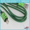 Cable rápido del relámpago del cable del cargador de la fuente de China