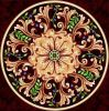 mattonelle della parete della pavimentazione di disegno della moquette del reticolo lucidate porcellana 1200*1200mnm