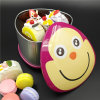 Caixa de presente de empacotamento do competidor do Tinplate/caixa do bolinho/caixa dos doces (T001-V24)
