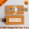 Memória Flash deslizante do USB do cartão do mini presente (YT-3115)