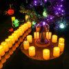 Светодиодные лампы в форме свечи Flameless чай/1xcr2032 работать от батареи Tealight свечи