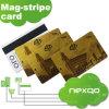 Carte de piste magnétique de PVC de Hico de Loco/d'impression de Cmky de qualité