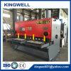 Máquina de corte hidráulica da placa de aço do ferro do fabricante de China para a porta (QC11Y-20X2500)