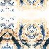 Напечатанные ткани сатинировки печати цифров Silk ткани Silk (SZ-0109)