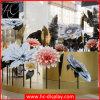 Decoración comercial de papel de la alameda de la flor artificial para la comercialización visual