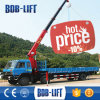 インドの望遠鏡ブームのクレーン車の取付けられたトラックの価格
