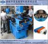 Einzelne Schrauben-gewölbtes Plastikrohr, das Maschine herstellt