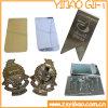 L'oro/la clip dei soldi placcata argento con progetta (YB-MC-03)