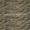Serpente Printed Flocking Fabric per Upholstery, Bags, Shoes