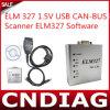 USB 1.5V вяза 327 Может-Bus Scanner Elm327 Software Free Shipping