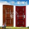 Porta de segurança de metal metálico exterior