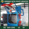 Shot ad uncino Blasting Machine per Steel Plate Surface Cleaning