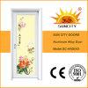중국 작풍 다채로운 유리 입히는 알루미늄 문 내부 (SC-AAD043)