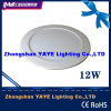 CE/RoHSのYaye Top Sell 24With20With18With15With12With9With6With4With3W Recessed Round LED Panel Light