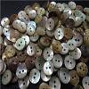 Botão japonês feito sob encomenda de Shell da mãe de Botons Botão natural de Shell de Akoya