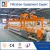 Tissu automatique lavant le filtre-presse de chambre de pp pour l'industrie minière 1500mm