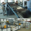 Chaîne de production contractile thermo réticulée par PE de bande