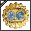 Значок Pin Golden Metal эмали для Party Emblem (BYH-10215)