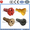 6  bocado de tecla elevado do carboneto DTH da perfuração de rocha da pressão de ar para a mineração