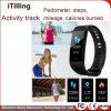 2018 La nueva China al por mayor fabricante de la banda de pulsera Bluetooth Smart Fitness Tracker Ce RoHS Reloj inteligente