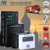 Sistema di Mornitoring del segnalatore d'incendio di incendio di 8 zone
