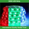 Гибкий свет прокладки SMD 5050 RGB СИД