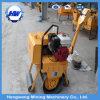 De mini Handbediende TrillingsWegwals van de Pers van de Benzine/Diesel