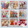 10 orsi molli di Keychain dell'orsacchiotto della peluche di cm/orso orsacchiotto del mazzo/mini giocattolo sexy della peluche delle catene chiave