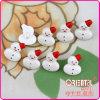 Il tasto sveglio dei bambini del pupazzo di neve di fantasia