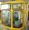 Grúa de Servicio Pesado pieza adosada Taxista cabina sala