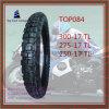 300-17tl, 275-17tl, Motorrad-Reifen des Superder qualitäts250-17tl schlauchloser Nylon-6pr