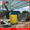 Sistema de desecación del lodo de la prensa de filtro de tornillo del acero inoxidable