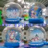 Décorations de Noël Snowglobe gonflable/chambre à bulles Bubble tente gonflable PVC