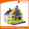 屋根(T1-006B)を持つ子供のための膨脹可能なジャンパーの家の道化師の警備員