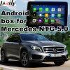 Auto androide GPS-Navigationsanlage-videoschnittstelle für Benz C, Cla, Clk, B, a, E, Aufsteigen-Note des Glc-(NTG5.0), Form-Bildschirm, Mirrorlink, HD 1080P, Google Karte