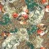 Ustom ha fatto il tessuto di seta stampato Digitahi (TLD-0103)