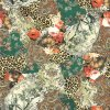 Ustom сделало ткань напечатанную цифров Silk (TLD-0103)