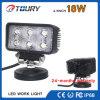 Luz auto del trabajo del CREE 18W LED de la lámpara del LED para el coche