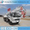 Einfach, 8 Tonnen-LKW-Kran mit teleskopischer Hochkonjunktur zu benützen