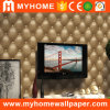 La salle de séjour décoration murale Cheap 3D de papier peint en PVC en provenance de Chine