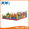 直接膨脹可能な跳ね上がりを跳んでいる子供を販売する娯楽工場