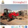 Marca Strongbull ZL08 Agrícola certificada Ce mini cargadora de ruedas