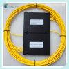 Acoplador fundido óptico de fibra del rectángulo 1X4 del ABS de la alta calidad