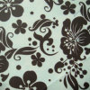 210d Ripstop Flowers PVC/PU Printed Polyester Fabric (XL-381-2)